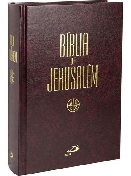 Biblia De Jerusalem - Media Encadernada - Paulus