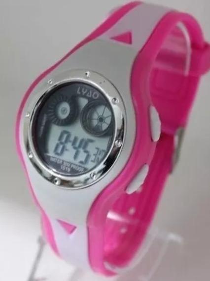 Kit C/10 Relógio De Pulso Infantil Digital Atacado
