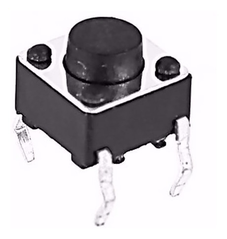 Micro Switch Boton Pulsador 6x6x5mm Paquete De (100 Uni)