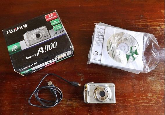 Câmera Fotografica Fine Pix A900 Fujifilm 9 Mega Pixels