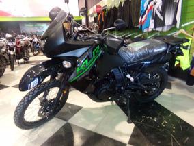 Motocicleta Kawasaki Klr 650 2017 0km Negra