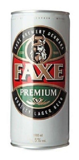 Pack X4 Cerveza Faxe 1000 Ml
