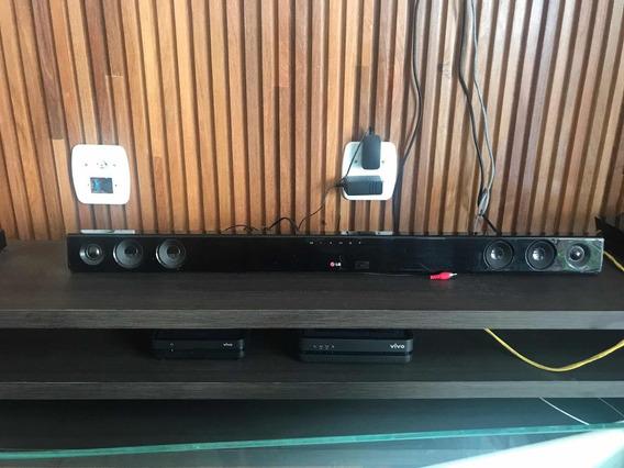 Sound Bar Lg Usado Em Ótimo Estado E Fácil Instalação