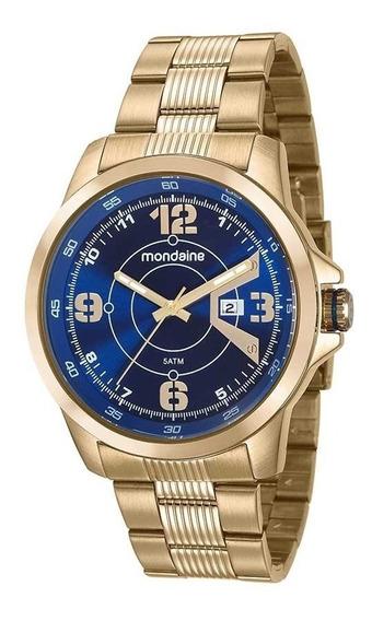 Relógio Mondaine Dourado Masculino 99335gpmvds2