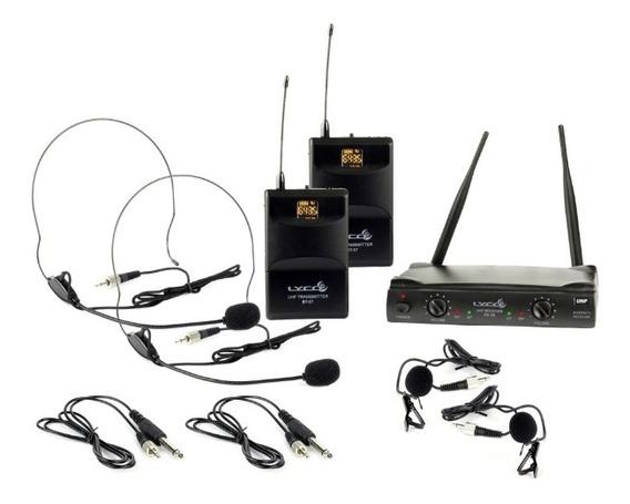Lyco Uh08 Hli Hli Sistema De Microfone Sem Fio Duplo Com Lap