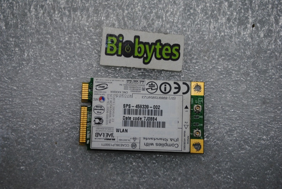 Placa Wireless Wifi Para Notebook Hp Compaq F700 459339-002