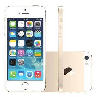 Celular iPhone 5s Dourado 64gb