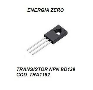 Transistor Npn Bd139 Cod. Tra1182 Frete Cr