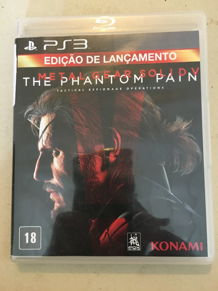 Game Ps3 Metal Gear Solid V The Phantom Pain