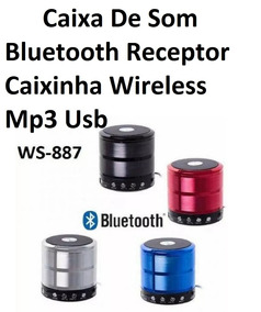 Caixa De Som Bluetooth Ws887 Speaker