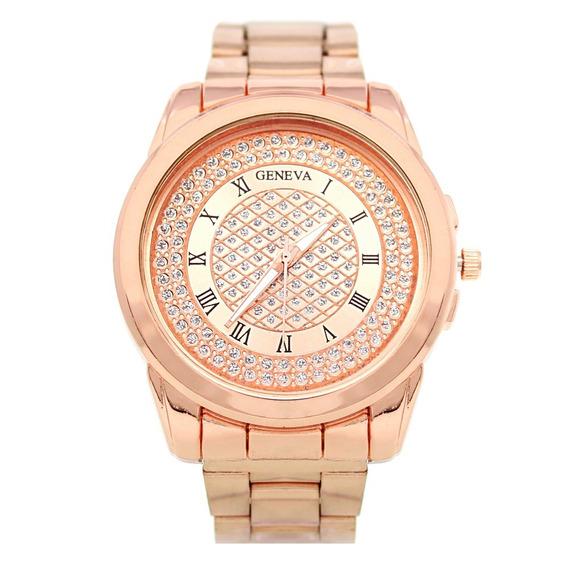 Reloj Dama Mujer Pesat Oro Rosado