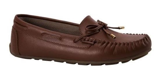 Zapatos Dama Confort Shosh 4328 Choclo Piel Meses Sin Int...