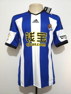 Camisa Oficial Real Sociedad Espanha 2014 Home adidas P