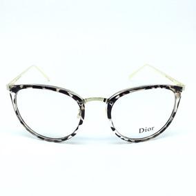 2eb0566f8 Armação Oculos Feminino Em Acetato Geek Vintage Gato P/ Grau