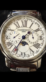 Reloj Frederick Constant 100% Original Moon Phase Chronograp