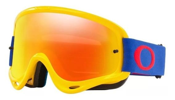 Antiparra Oakley O Frame Mx Fire Clear Motocross Riderpro