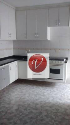 Apartamento Com 2 Dormitórios Para Alugar, 80 M² Por R$ 1.200,00 - Vila Pires - Santo André/sp - Ap4706