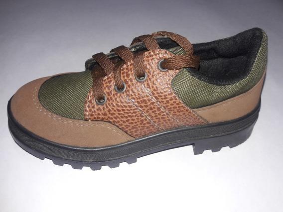 Zapato De Niño Con Cordón