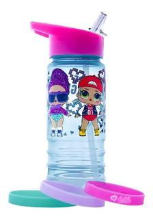 Botella Termo Lol Surprise Con Pulseras Juguete 450ml Cilindro Para Agua Niña Lunch Libre De Bpa Infantil Original