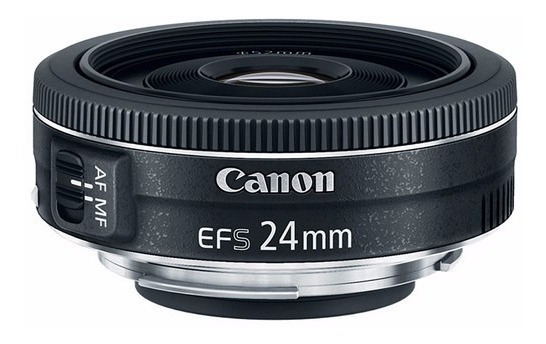 Lente Canon Ef-s 24mm 2.8 Stm Garantia Brasil 12x S/juros