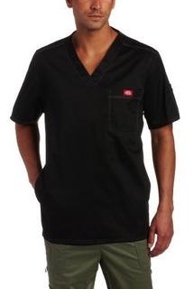 Dickies Men S Generation Flex Utility Scrubs V-neck Shirt