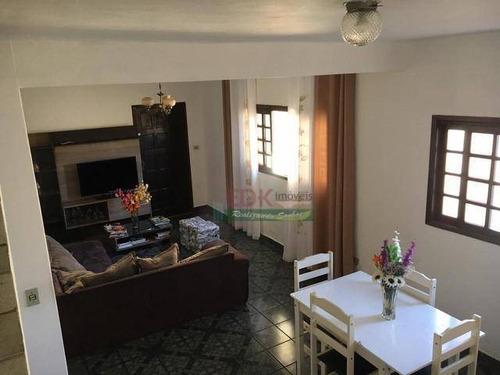 Imagem 1 de 6 de Sobrado Com 5 Dormitórios À Venda, 241 M² Por R$ 450.000 - Jardim Suzano - Suzano/sp - So2136
