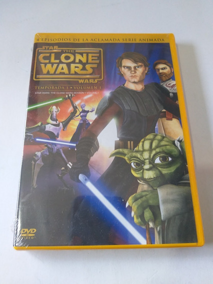 Star The Clone Wars Temp.1 Vol.1