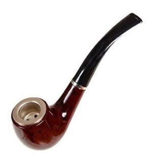 Pipa Para Fumar Tabaco Material Plástico - Colecciòn