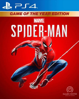 Marvels Spiderman Game Of The Year G.o.t.y. Ps4 Digital Gcp