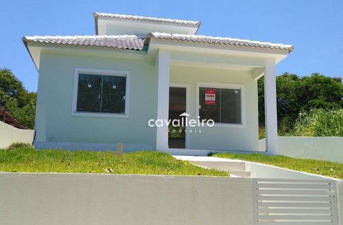 Casa Com 2 Dormitórios À Venda, 85 M² - Inoã - Maricá/rj - Ca4006