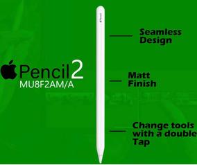 Caneta Apple Pencil 2a Geração iPad Pro Branco