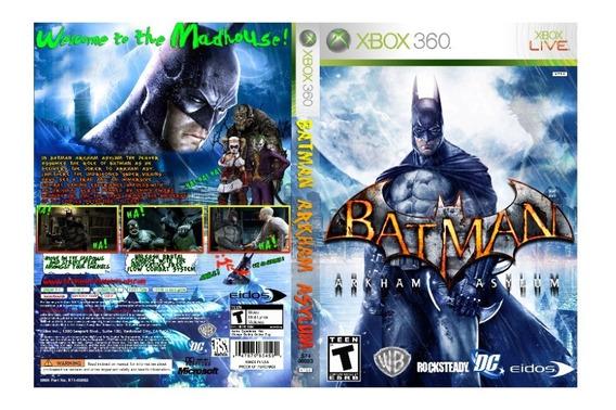 Batman Arkham Asylum Pra Xbox 360 ( Cd ) (leia Descrição)