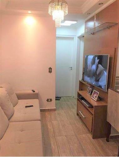 Imagem 1 de 22 de Apto Na Mooca Com 2 Dorms, 1 Vaga, 50m² - Ap13602