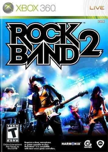 Rock Band 2 Rockband 2 Xbox 360 Original