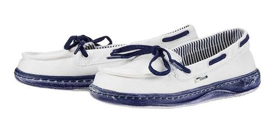 Zonazero Zapatos Nauticos Hey Dude Moka Mujer