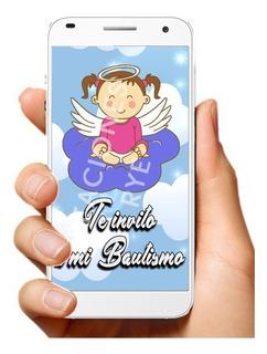 Tarjetas Invitacion Bautismo Nenas En Mercado Libre Argentina
