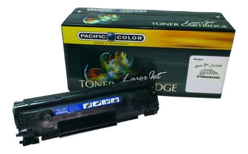 Toner Alternativo 436 Negro Pacific Color