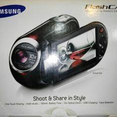 Filmadora Samsung Flashcam Shoot & Share In Style