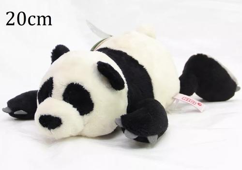 Urso Panda Nici Naninha Deitado 20cm Importado Casa Do Urso