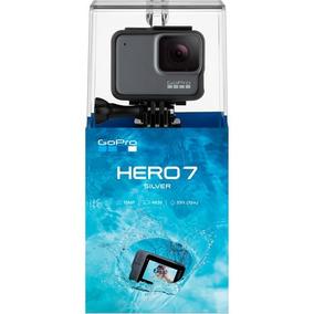 Câmera Filmadora Gopro Hero 7 Silver 4k Wifi 12x S/juros