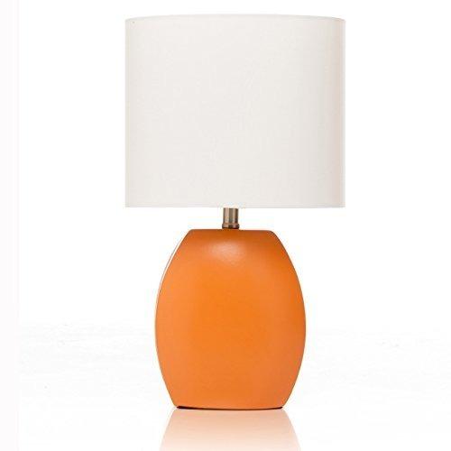 Lámpara De Mesa De Patata Dulce, Naranja