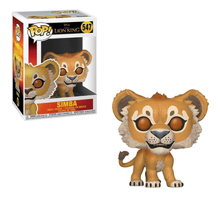Muñeco Funko Pop Lion King Rey Leon Simba 547 Original!!