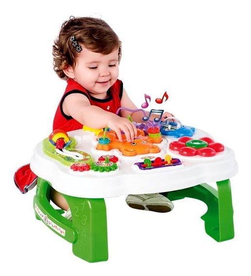 Mesita De Actividades Didactica Para Bebes Calesita Sonidos