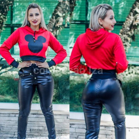 Conjunto Moletom Feminino Roupas Femininas Moda Inverno 2018