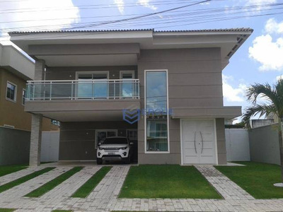 Casa Com 5 Dormitórios À Venda, 451 M² Por R$ 1.650.000 - Alphaville Eusébio - Eusébio/ce - Ca0090