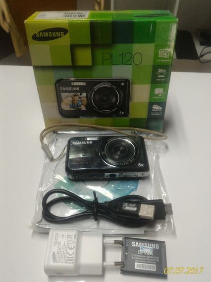 Câmera Digital Samsung Smart Pl120,