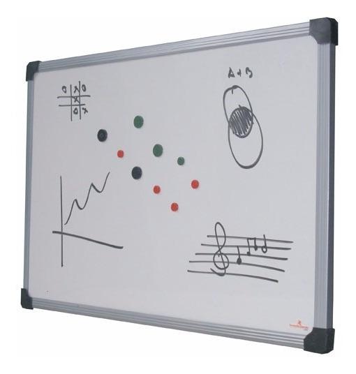 Pizarra Magnetica Olami Piz901609 60x90cm Marco De Aluminio