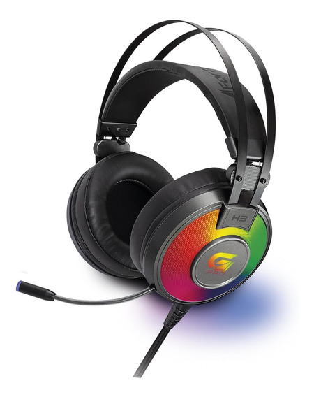 Fone Headset Gamer Fortrek H3 Rgb Conector 2x P2 Sem Juros