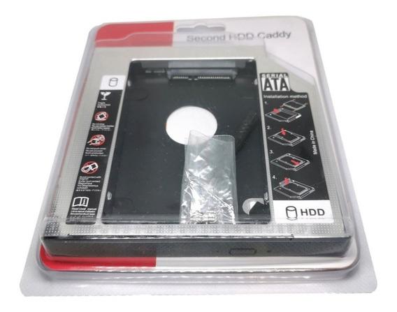 Adaptador Caddy Ssd Hdd 9.5mm Segudo Disco Duro Para Laptop