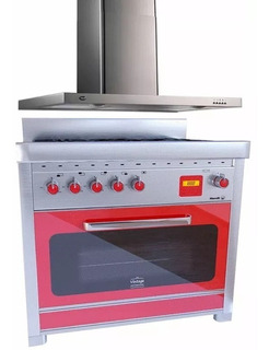 Combo Cocina Morelli Vintage Touch 900 + Campana Col-home